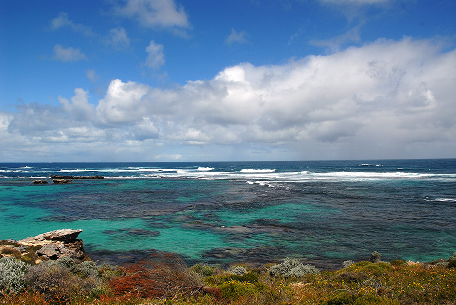 Snorkeling beaches on Rottnest island